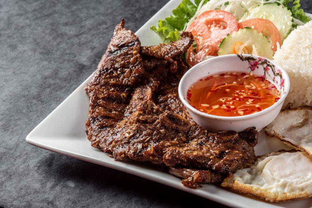 menu -Short Rib Rice Plate