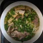 Pho w/ Tofu & Steak
