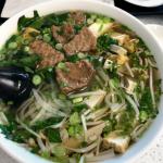 Pho w/ Steak & Tofu